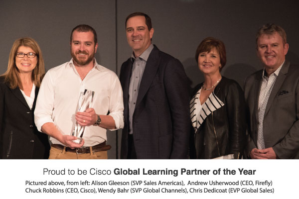 Firefly Wins Cisco Global Partner of the Year Award